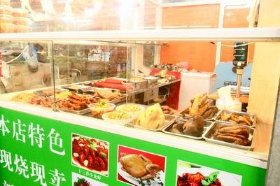 菜市場熟食店裝修圖片