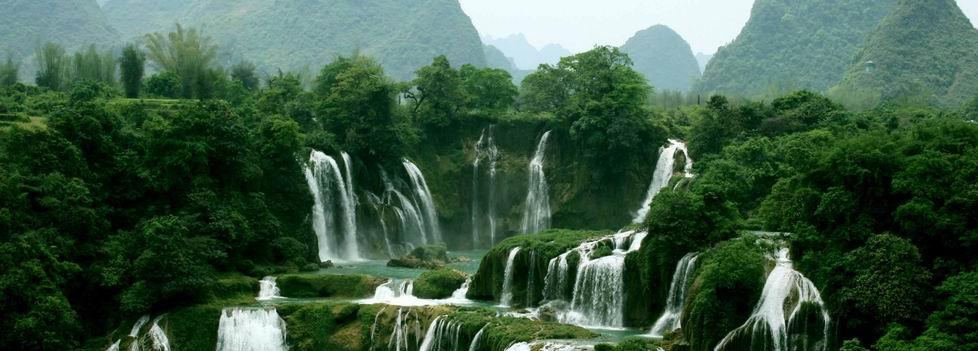 广西春天山水风景