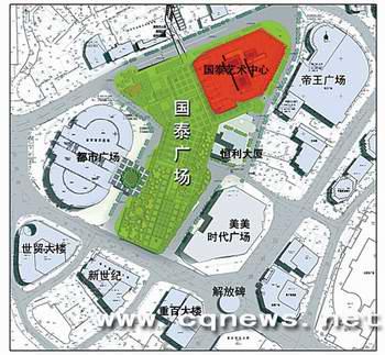 重庆市拆迁改造 解放碑将打造城市 森林图片