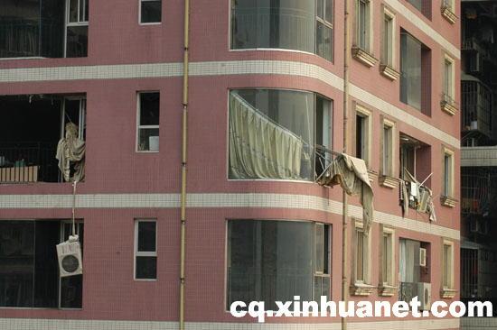 重庆朝天门基良广场B幢发生爆炸1死3伤图片