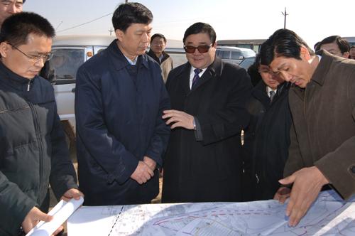 开发区东海路,南海路,汉沽区汉北路到中新天津生态城选址地,实地了解