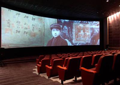 邓小平陈列馆电影厅  来源:广安市委宣传部-小平故居