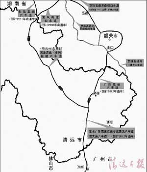广东省专家意见:广乐高速公路南段建八车道