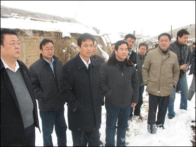 青岛崂山区冻灾