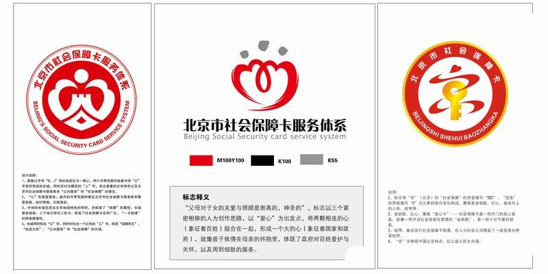 北京市社会保障卡服务体系标识(logo)网上投票