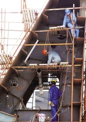 钢结构加工制作的准备工作