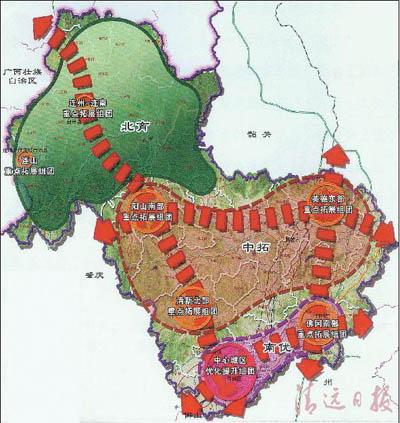 广东省清远市连州地图