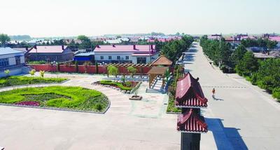 齐齐哈尔市扎龙乡查罕诺村享有全国文明村