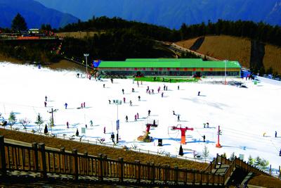 安吉江南天池景区图片