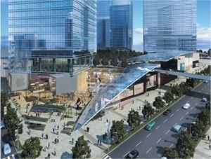 重庆/九龙仓集团、中海地产项目A栋,B栋规划图