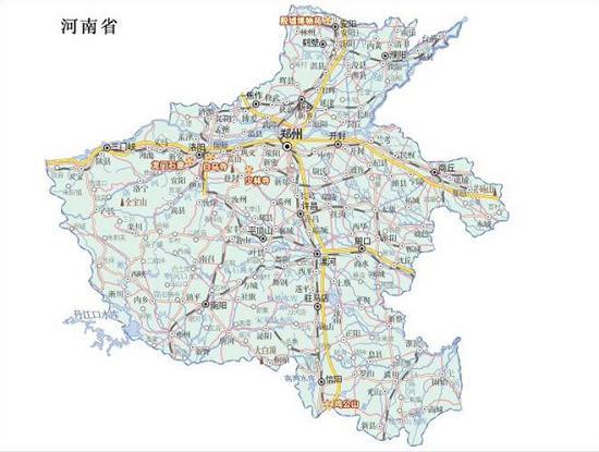 河南交通地图              河南旅游 交通地图 安阳市地图 鹤壁市
