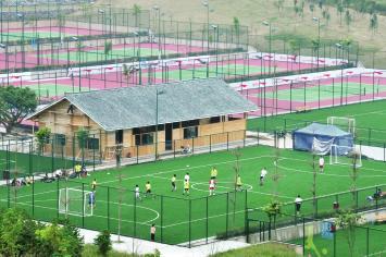 国内最大公益性体育公园--李宁体育园建成开园