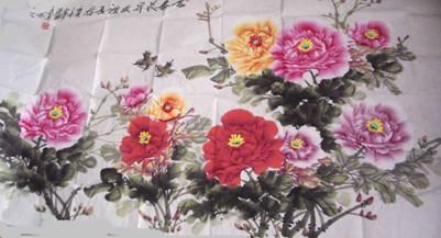 郭泰森 来自中国牡丹画第一村的著名画家