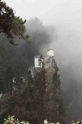 镇安县塔云山景区以厚重的道教文化为灵魂,是集旅游观光休   高清图片